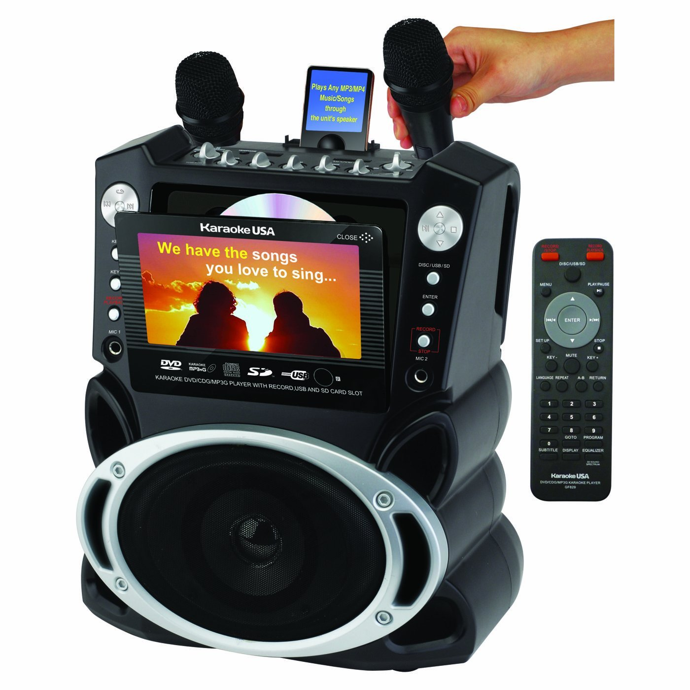 Image result for 2. Portable karaoke machines