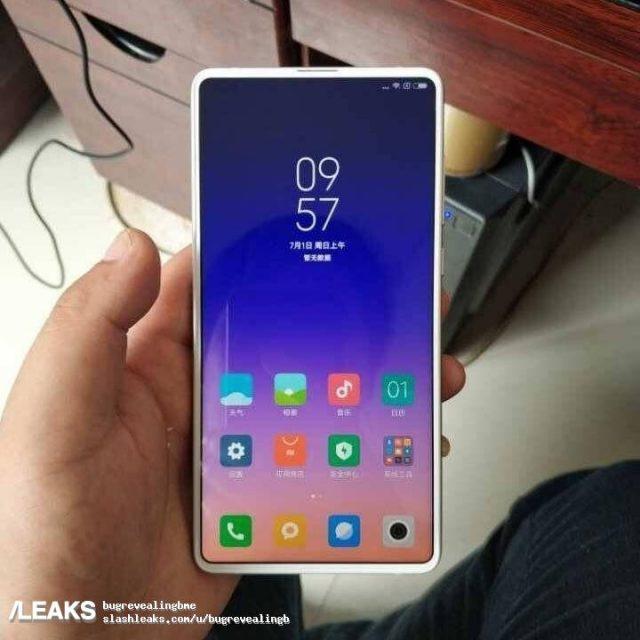 Xiaomi Mi Mix 3 White Variant Smartphone Image Leaked