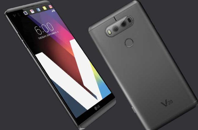 LG V20 rolling out Android 8.0 Oreo update in South Korea
