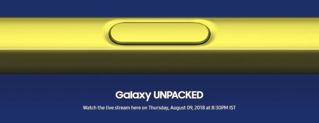 Samsung Galaxy Note 9 poster unveiled with S-Pen, super powerful Note
