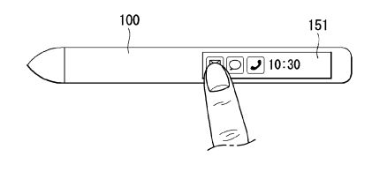 LG patents a roll-able smart-pen with fully featured integration with a foldable display