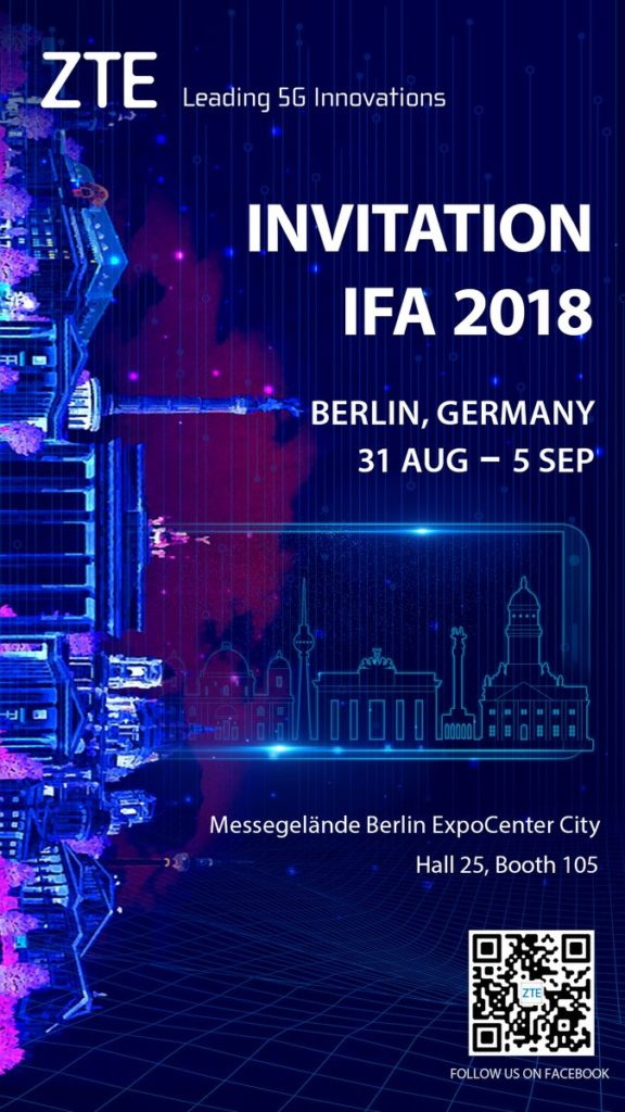 ZTE Axon 9 will launch on August 30 at IFA 2018 with 5G connectivity