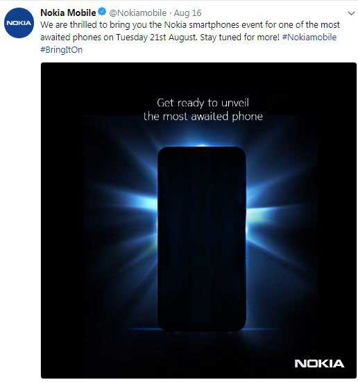 Nokia 9 is set for launch, teased online for August 21 - Most Awaited Phone