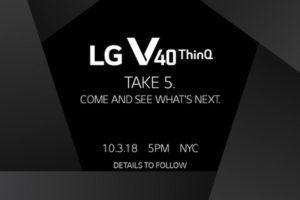 LG V40 Invite
