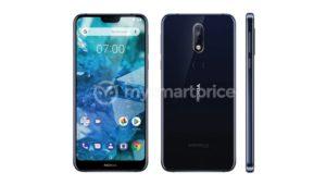 Nokia 7.1 Plus leaked image