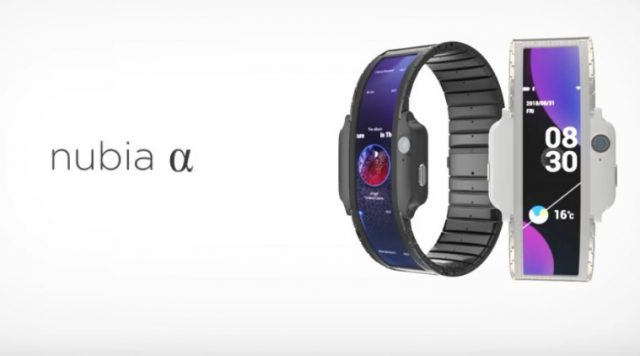 Nubia Alpha wearable smartphone unofficial teaser video surfaced online