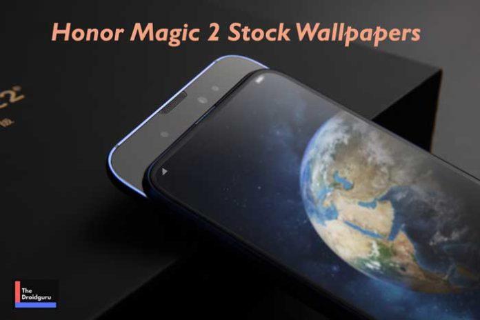 Download Huawei Honor Magic 2 Stock Wallpapers in Full HD+ Resolution