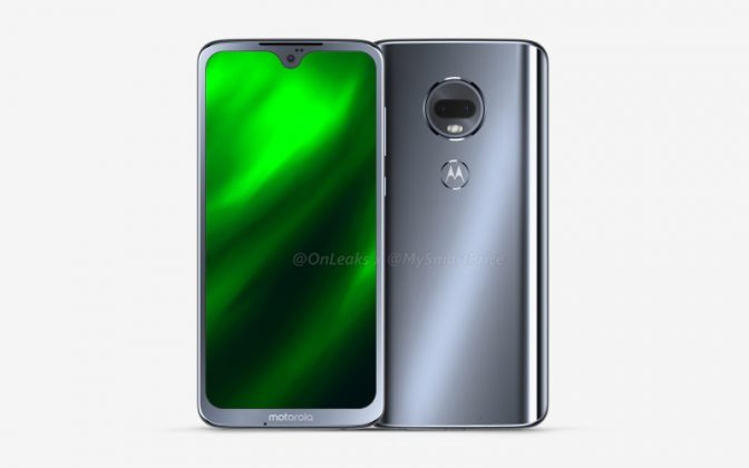 Moto G7 leaked renders showing Design Overview and Some Specifications