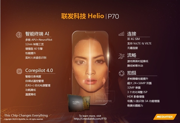 MediaTek Helio P70 Launched With Corepilot 4.0 Technology