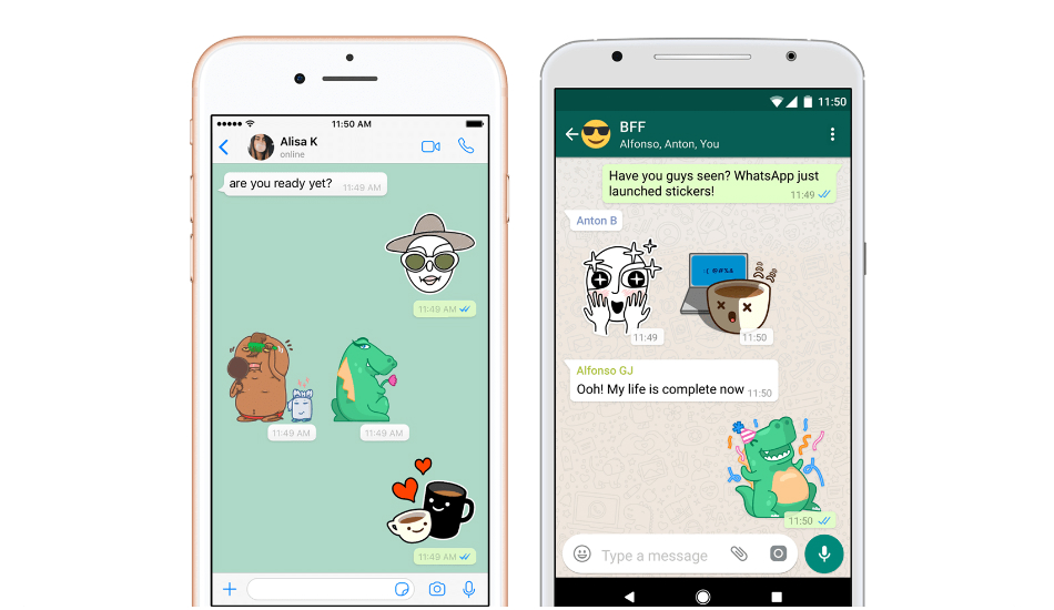 WhatsApp stable version will finally release stickers and swipe to reply feature in coming few weeks