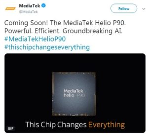 MediaTek Helio P90 is on the way to announce with powerful AI