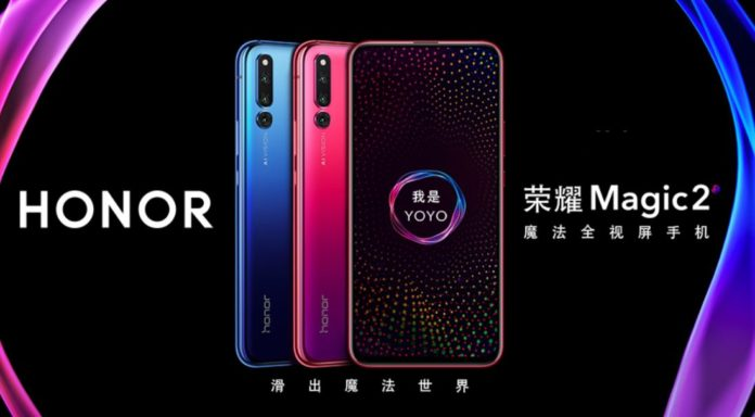 Honor Magic 2 launched with a sliding front camera, triple rear cameras, and more