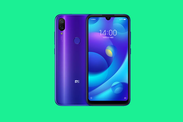 Download Xiaomi Mi Play Stock Wallpapers In Qhd Resolution The