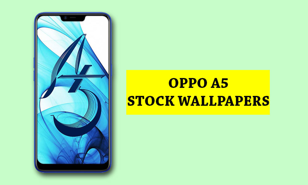 Oppo A5 Stock Wallpapers